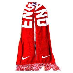 Nike England soccer fan scarf